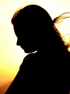 sad-woman-silhouette