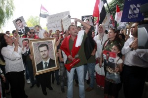 Syrian journalists protest new EU sanctions