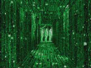 matrix-hallway