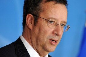 Visit to NATO by President Toomas Hendrik Ilves of Estonia