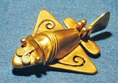 Ancient+Airplane+Vimana+UFO+Precolumbian Ajatu: Michael Cremo: Inimrass on eksisteerinud juba miljoneid aastaid