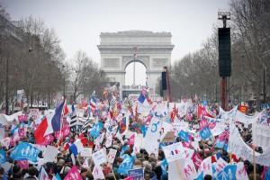 APTOPIX France Gay Marriage