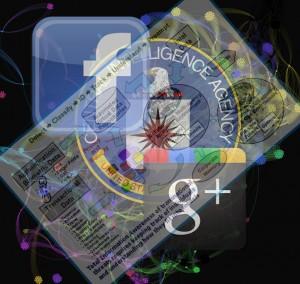 CIA Google, Facebook Logo