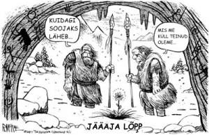 global warming koomiks 300x194 Kas ahiküte ja autode heitgaasid tõesti mõjutavad kliimat?