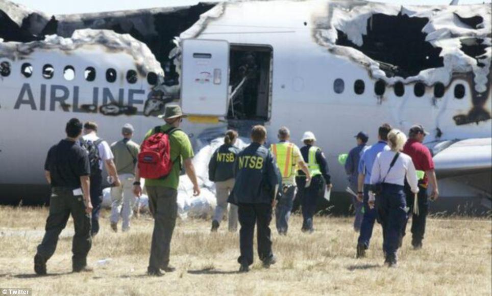 FOTO 10 kollane San Fransisco lennuõnnetus oli lavastus?