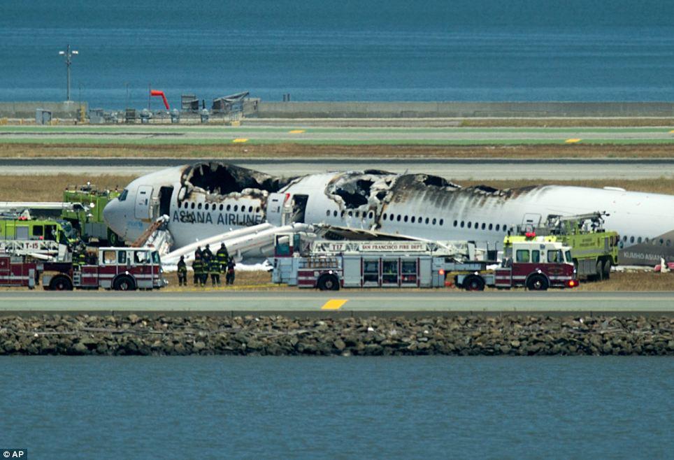 FOTO 12 7 akent San Fransisco lennuõnnetus oli lavastus?