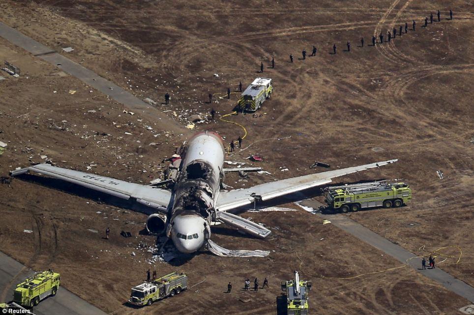FOTO 2 number lennuki tiival San Fransisco lennuõnnetus oli lavastus?