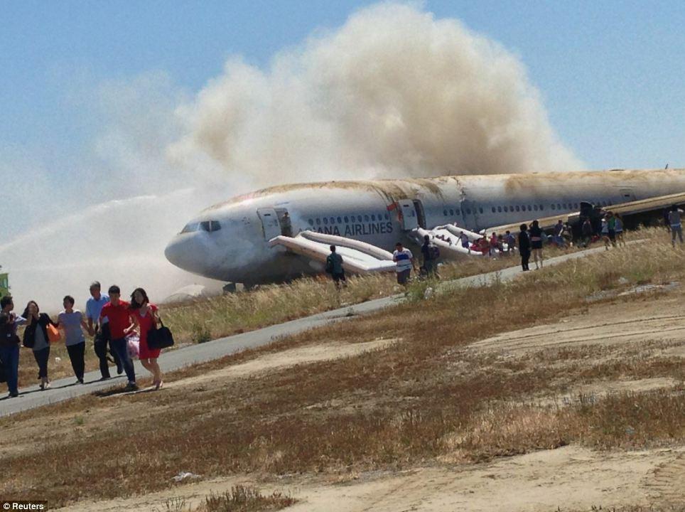 FOTO 5 rohi kasvab San Fransisco lennuõnnetus oli lavastus?