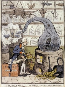 James_Gillray_-_alchemy