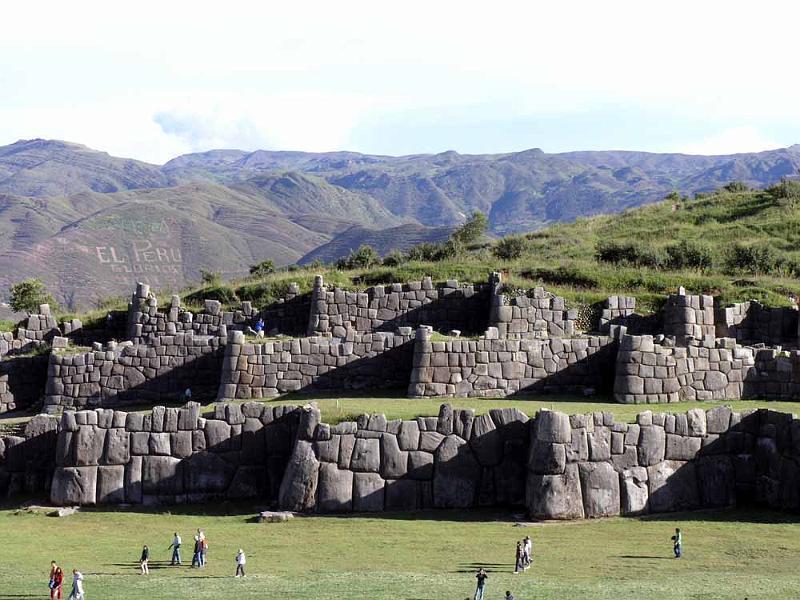 Sacsayhuaman Põnev teooria: nefilimid – langenud inglite järglased?