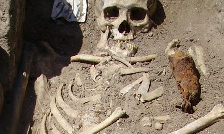 Vampire graves unearthed in Bulgaria