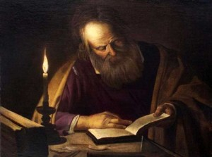 Saint-Joseph-Reading-By-Candlelight