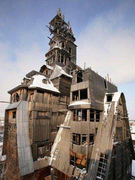 33 33 Worlds Top Strangest Buildings gangsterhouse Galerii: maailma kõige erilisemad hooned