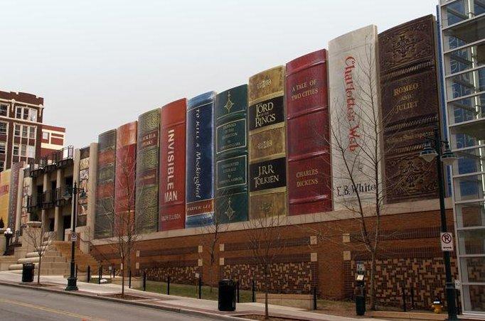 9 33 Worlds Top Strangest Buildings kansascity library Galerii: maailma kõige erilisemad hooned