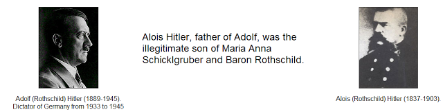 Adolf Rothschild Hitler