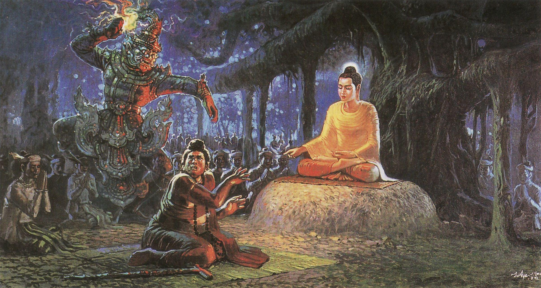 Demon-buddha