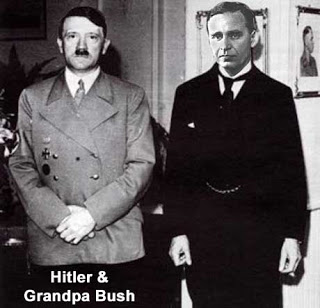hitler bush Kes on Rothschildid: pilguheit eliitperekonna ajalukku, V osa
