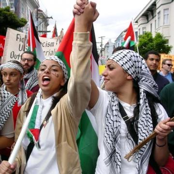 palestiinlaste protest