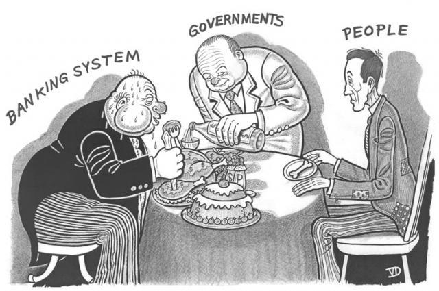 pankurid, valitsus ja  inimesed