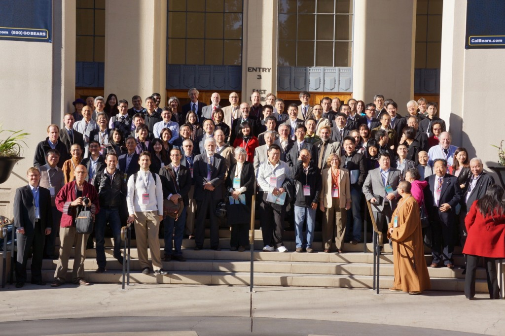 Berkeley conference group photo