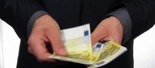 Businessman Counting 1000 Euros 2 preview image