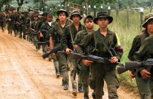 FARC-rebels