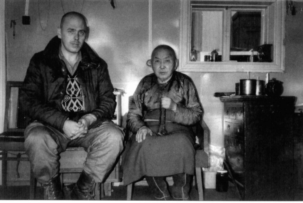 Vello Vaartnou and Hambo Lama Erdineev. Ivolga 1980