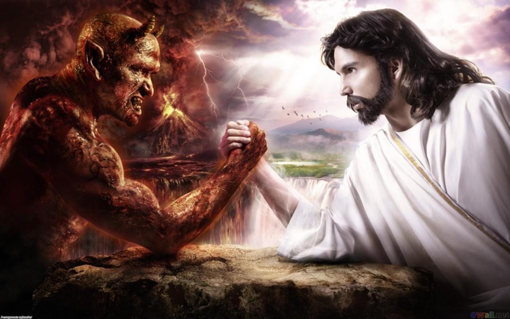 jeesus ja saatan