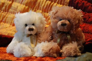 two-teddies