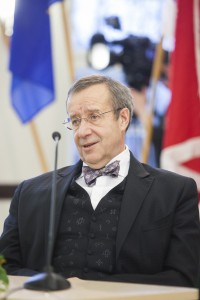 PRESIDENT TOOMAS HENDRIK ILVES