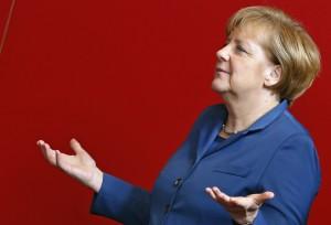 File photo of German Chancellor Merkel