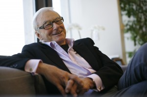 File photo of venture capitalist Tom Perkins interviewed in his office in San Francisco