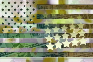dollars-beside-us-flag