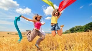 Women-Happy-Funny-Jumping-Jump-Jumper-Exposed-Midriff-1080x1920