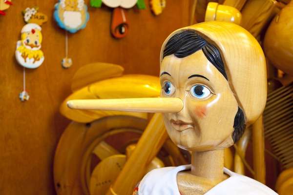 Praktiline mustkunst: kuidas saada aru, et keegi sulle valetab? I osa