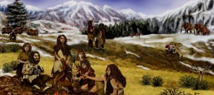 family-of-Neanderthals