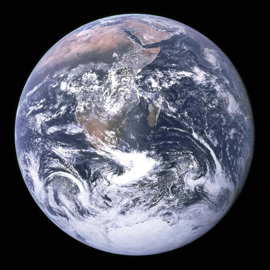 NASA ainus pilt Maast, tehtud Apollo 17 pardalt (1972)