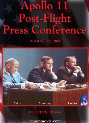 Apollo 11 pressikonverents pärast Kuult naasmist 12. augustil 1969