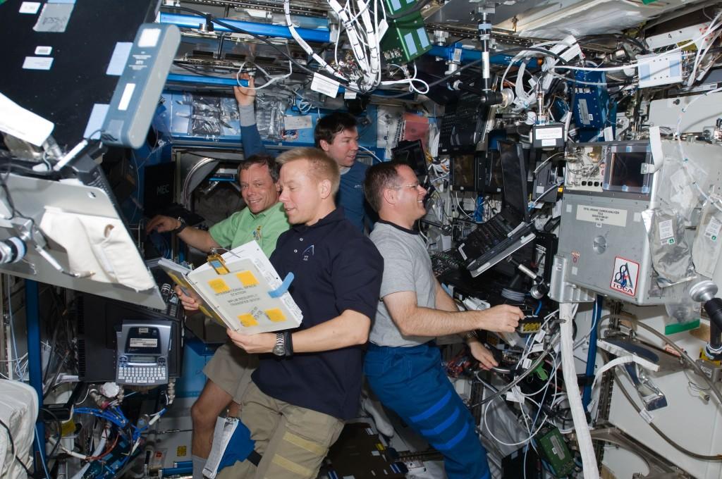 Kuidas varustatakse ISS-is inimesi hapnikuga?