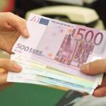 euro-banknotes