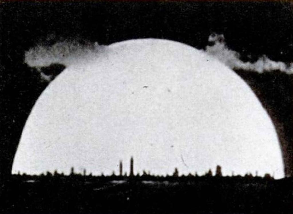 Kaader vesinikpommi plahvatuse filmist