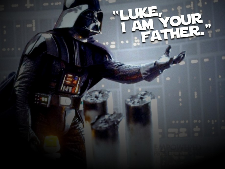 3. Luke, I am your father