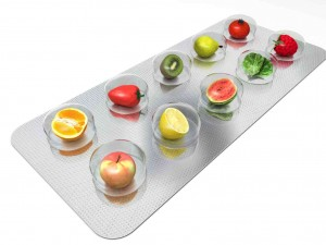 Fruit-encased-in-pill-packaging