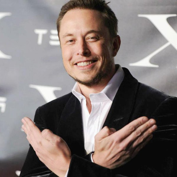 Elon Musk Skull & Bones