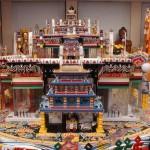 Kalachakra mandala 3D mudel