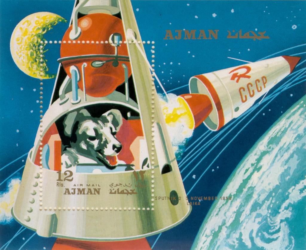 Kosmonaut Laika aastal 1957
