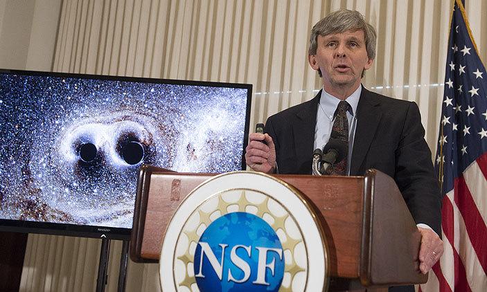 LIGO tegevdirektor David Reitze