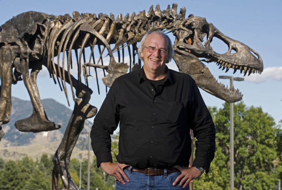 Maailmakuulus paleontoloog Jack Horner