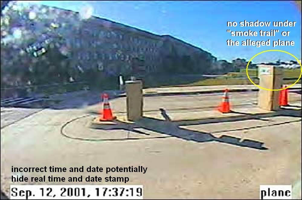 See turvakaamera foto peaks kustutama kõik vandenõuteooriad ja tõestama lõplikult, et lennuk lendas Pentagoni