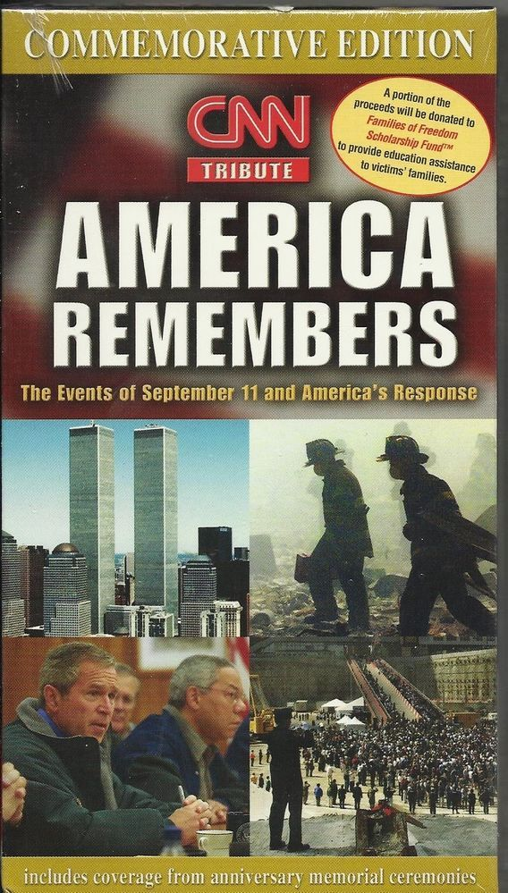 "DVD ""America Remembers"""
